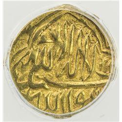 SHAYBANID: 'Abd Allah II, 1583-1598, AV 1/12 mohur, [Badakhshan], AH(1)004. ANACS EF45