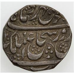 DURRANI: Shah Shuja', 1803-1809/2nd reign, AR rupee, Peshawar, AH(12)20 year 3. VF-EF