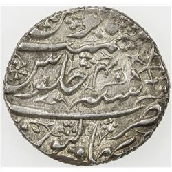DURRANI: Mahmud Shah (posthumous), AR rupee, Bahawalpur, AH1239 year 40. EF-AU