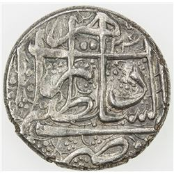 DURRANI: Kamran Shah, 1829-1842, AR rupee (10.38g), Herat, AH124x. EF