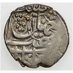 DURRANI: Kohandil Khan, 1840-1855, AR qandahari rupee, Ahmadshahi, AH1265, A-3151, KM-182.1, VF-EF