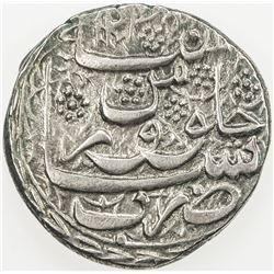 BARAKZAI: Sultan Muhammad Tila'i, 1831-1834, AR rupee (9.46g), Peshawar, AH1248. EF