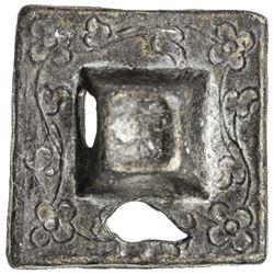 MALAYSIA: PAHANG: Bendahara Sewa Raja Ahmad, 1863-1884, tin 1/4 tamlung (10.41g), AH1295. VF
