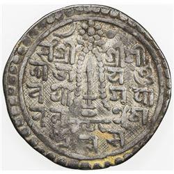 NEPAL: PATAN: Yoga Narendra Malla, 1685-1705, AR mohar, NS820. F