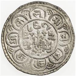 NEPAL: PATAN: Jaya Mahindra Malla, 1717-1722, AR mohar, NS837. VF-EF