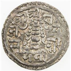NEPAL: Pratap Simha, 1775-1777, AR 1/4 mohar, SE1699. VF