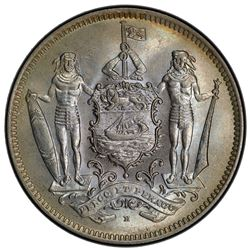 NORTH BORNEO: 5 cents, 1928-H. PCGS MS66