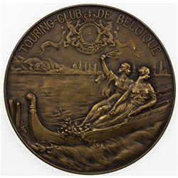 BELGIUM: AE medal (85.02g), ND (ca. 1930?). VF-EF