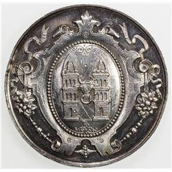 BOHEMIA: AR medal (42.1g), 1893. AU