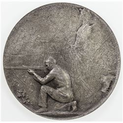 CZECHOSLOVAKIA: AE medal (53.02g), 1930. EF