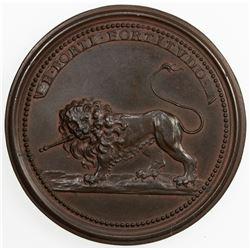FRANCE: LORRAINE: AE medal (38.74g), ND (ca. 1730). UNC