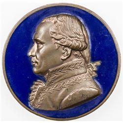 FRANCE: AE medal (38.5g), 1822. EF