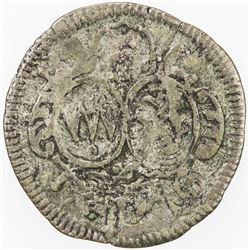 BAMBERG: Peter Philipp von Dernbach, 1672-1683, AR groschen (1.34g), 1683. F-VF