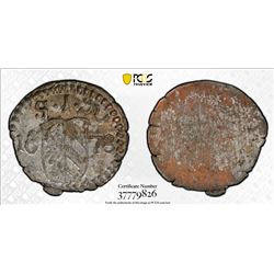 NUREMBERG: Free Imperial City, AR pfennig, 1678. PCGS MS64