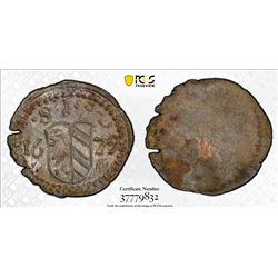 NUREMBERG: Free Imperial City, AR pfennig, 1679. PCGS MS64