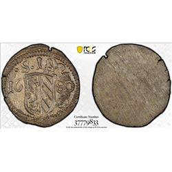 NUREMBERG: Free Imperial City, AR pfennig, 1680. PCGS MS64