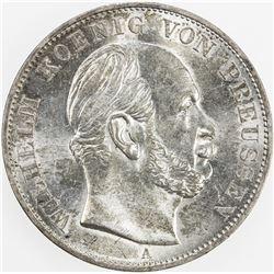 PRUSSIA: Wilhelm II, 1888-1918, 1871. UNC