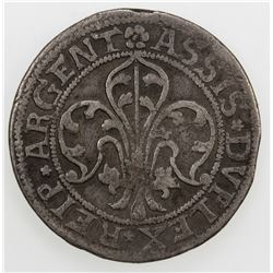 STRASSBURG (CITY): AR 12 kreuzer (6.78g), ND (early 1600's)