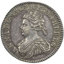 GREAT BRITAIN: Anne, 1702-1714, AR jeton, 1707