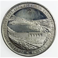 GREAT BRITAIN: medal (22.67g), 1898. AU