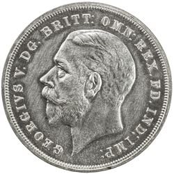 GREAT BRITAIN: George V, 1910-1936, AR crown, 1935