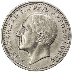 YUGOSLAVIA: Alexander I, 1921-1934, AR 50 dinara, 1932