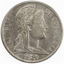 COLOMBIA: centavo, 1920. UNC