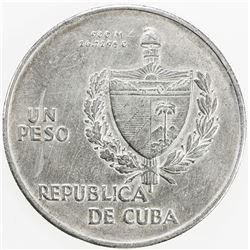 CUBA: AR peso, 1934. EF