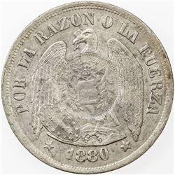GUATEMALA: AR peso, 1894. AU