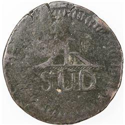 MEXICO: MORELOS: AE 8 reales, 1813. VF