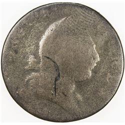UNITED STATES COLONIAL: VIRGINIA: AE halfpenny, 1773. Fa