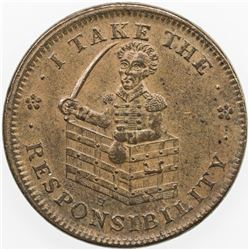 UNITED STATES:AE Hard Times Token, 1837. EF