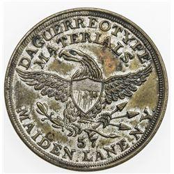 UNITED STATES:AE Merchant Token, ND [1855]. EF-AU