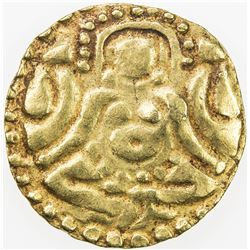 KALACHURIS OF TRIPURI: Gangeya Deva, ca. 1015-1040, AV 4 1/2 masha (3.98g). VF-EF