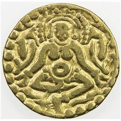 KALACHURIS OF TRIPURI: Gangeya Deva, ca. 1015-1040, AV 4 1/2 masha (3.84g). F-VF
