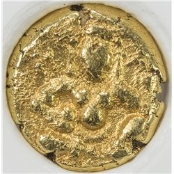 VIJAYANAGAR: Krishna Devaraya, 1505-1529, AV pagoda. NGC AU55