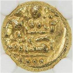 VIJAYANAGAR: Devaraya I & II, 1406-1446, AV pagoda. NGC MS63
