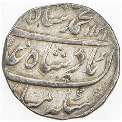 MUGHAL: Muhammad Shah, 1719-1748, AR rupee (11.42g), Kashmir, AH1133 year 3. EF