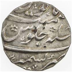 MUGHAL: Muhammad Shah, 1719-1748, AR rupee (11.42g), Kashmir, year 18. EF-AU