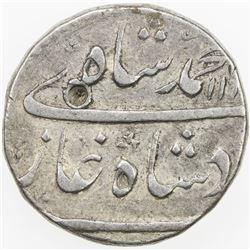 MUGHAL: Muhammad Shah, 1719-1748, AR rupee (11.45g), Kashmir, AH113x year one. VF
