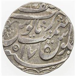 AWADH: AR rupee (11.18g), Asafnagar, AH(118)9 year 17. EF