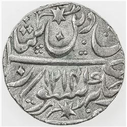 AWADH: AR rupee, Muhammadabad Banaras, AH1214 year 26. AU