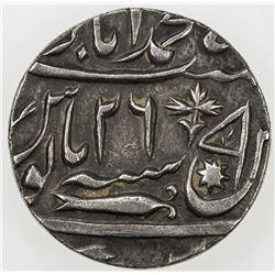 AWADH: AR rupee, Muhammadabad Banadas, AH1214 year 26. EF
