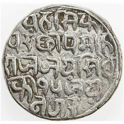BAJRANGGARH: Jai Singh, 1797-1818, AR rupee, year 15 (1811). VF