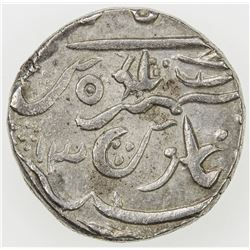 BIKANIR: Gaj Singh, 1746-1787, AR rupee, year 13. AU