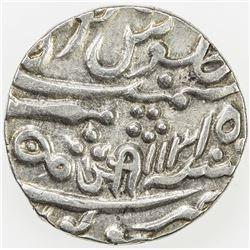 GWALIOR: Jayaji Rao, 1843-1886, AR rupee, Sheopur, year 15. EF