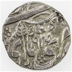 KASHMIR: AR rupee (10.9g), Srinagar, VS1925. EF