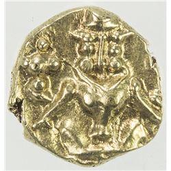 MYSORE: Kanthirava Narasa, 1638-1662, AV fanam (0.38g). PCGS MS64