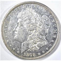 1878 8TF MORGAN DOLLAR CH AU