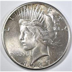 1927 PEACE DOLLAR  CH/GEM BU